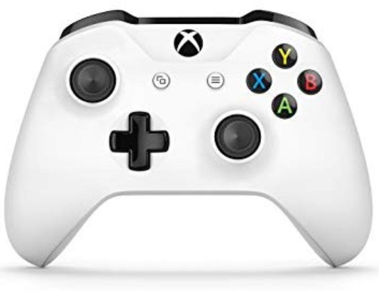 Manette sans-fil pour Xbox One - Blanche