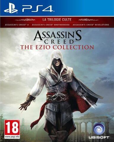 Sélection de jeux Assassin's Creed en promotion - Ex: Jeu Assassin's Creed The Ezio Collectionsur PS4