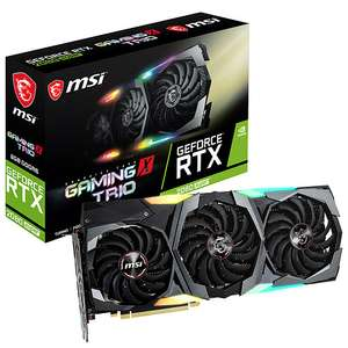 Carte Graphique MSI GeForce RTX 2080 SUPER GAMING X TRIO (735.26€ avec CAPIQUEPAS)
