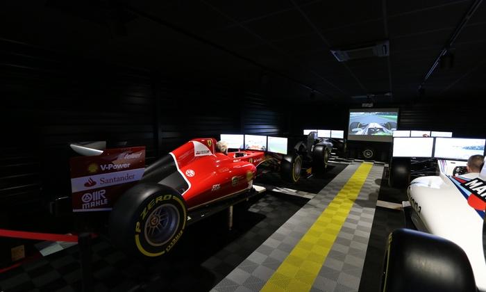 3 sessions de 10 minutes dans un simulateur de f1 - City Kart Saint-Sébastien-sur-Loire (44)