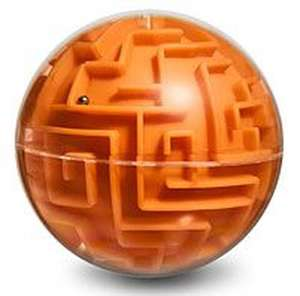 Casse-tête Thinkgeek Maze Orange - moyen