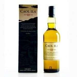 Whisky Caol Ila - 12 ans de Single Malt l'île d'Islay - 70cl
