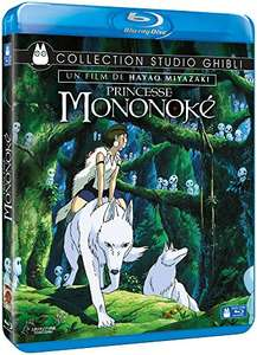 Blu-ray Princesse Mononoké