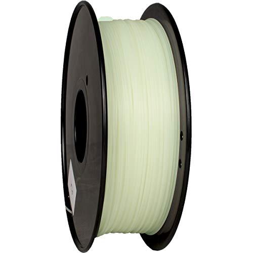 Filament pour imprimante 3D Geeetech - 1.75 mm, Phosphorescent, Gris clair (vendeur tiers)