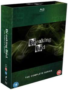 Version anglaise Breaking Bad: The Complete Series [Blu-ray]