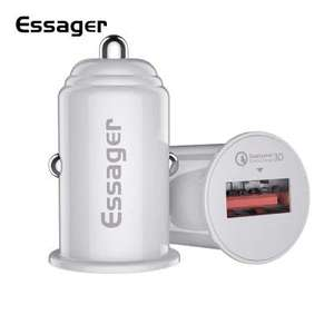 Chargeur Allume cigare Essager Quick charge - blanc