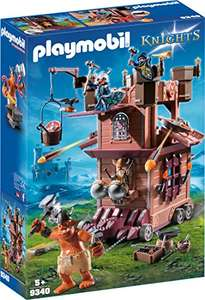 Playmobil Knights 9340 - Tour d'attaque mobile des nains