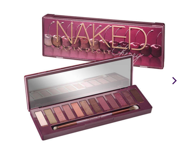 30% de réduction immédiate sur les palettes Naked - Ex : Palette Naked Cherry