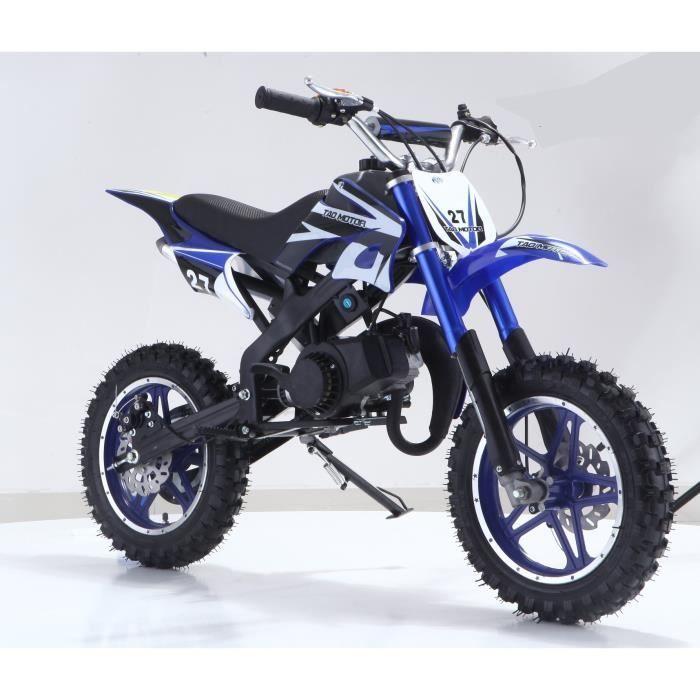 Mini Moto Dirt Bike - 50cc, 2T pour Enfant