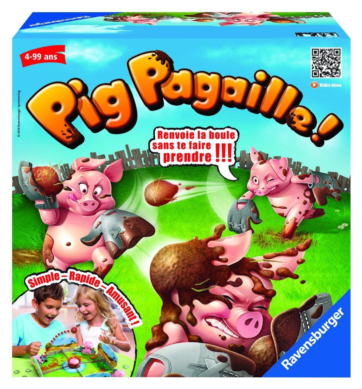 [Panier plus] Jeu d'action et de réflexe Pig Pagaille  Ravensburger