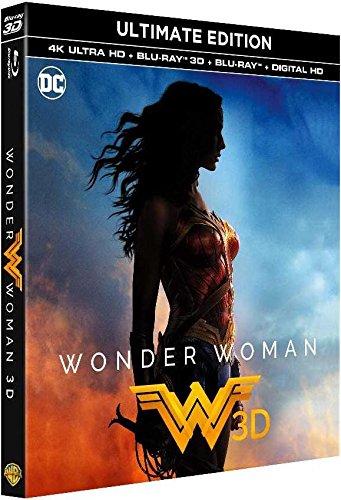 Coffret Blu-ray Wonder Woman Ultimate Edition - 4K Ultra HD + 3D + Blu-ray + Digital HD