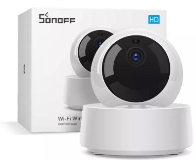 [Précommande] Caméra de sécurité intérieure Sonoff GK-200MP2-B - Wifi, 1080p, Vision nocturne, Détection de mouvement, Compatible eweLink