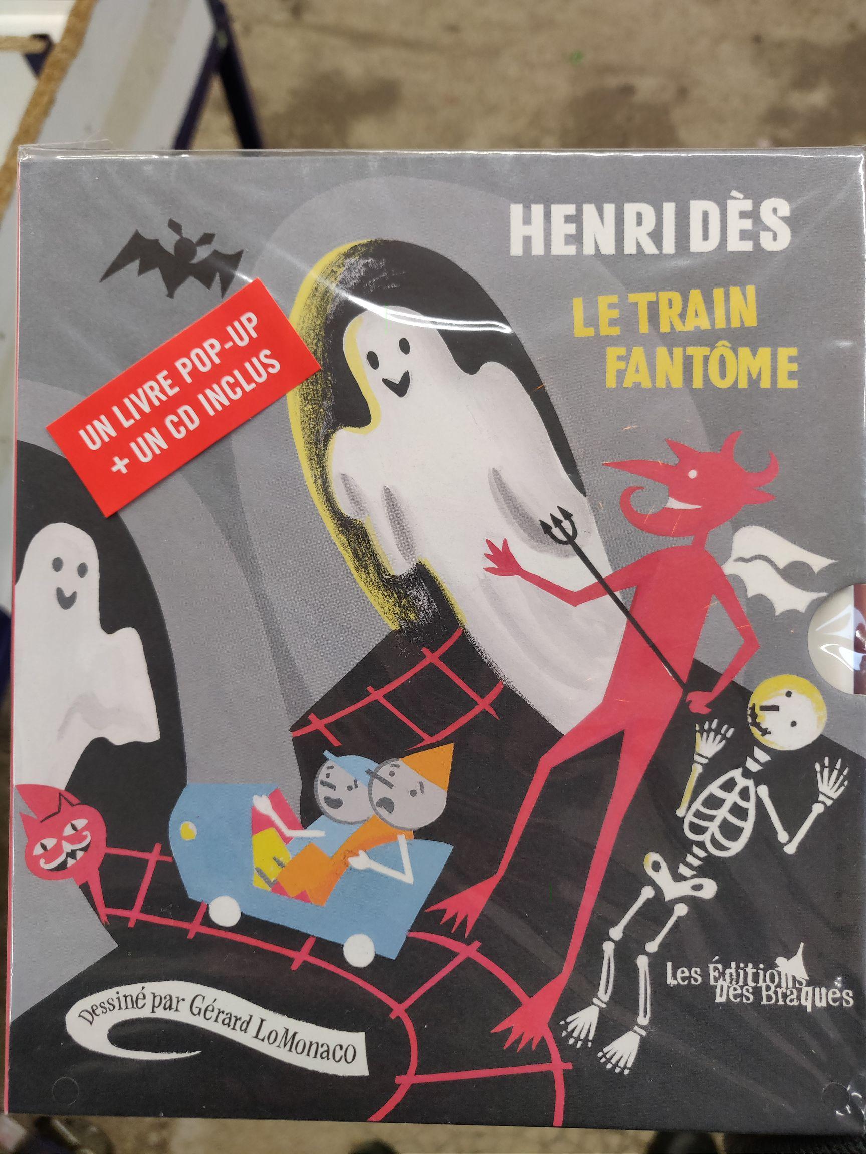 Le train fantome, Livre avec 1 CD audio (Noeux-les-Mines 62)