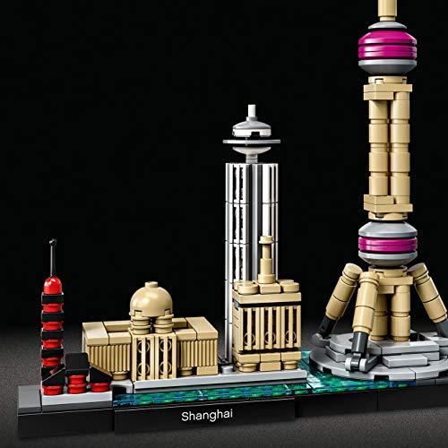 Jeu de construction Lego Architecture Shanghai set 21039