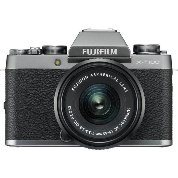 Appareil photo hybride Fujifilm X-T100 + 15-45mm PZ (via ODR Fujifilm)