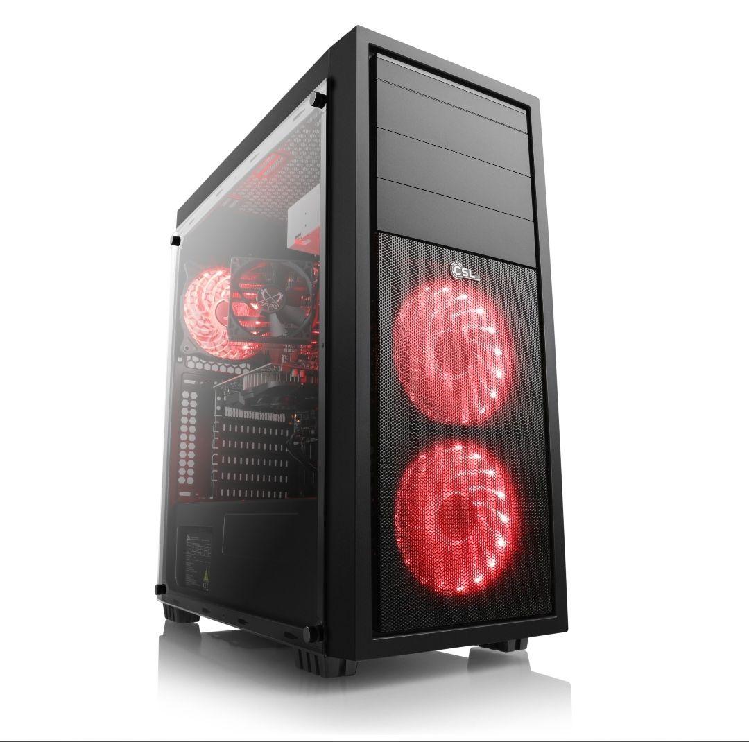 PC CSL Sprint 5895 - Ryzen 5 3600, RX 5700 XT Powercolor, RAM 3000Mhz, 16GO SSD 512GO, beQuiet! 600W 80+ Bronze