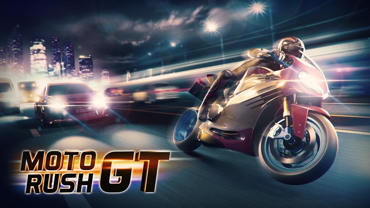 Moto Rush GT sur Nintendo switch (Dématérialisé - eShop Canadien)