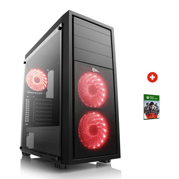 PC fixe Gamer Mini Cronos - Ryzen 5 3600, RTX 2070 OC (8Go), 16Go RAM (3000 Mhz), 500Go SSD, Alim 500W 80+ bronze (RX 5700XT au même prix)