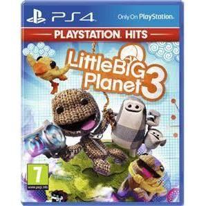 Little Big Planet 3 sur PS4 (Vendeur Tiers)