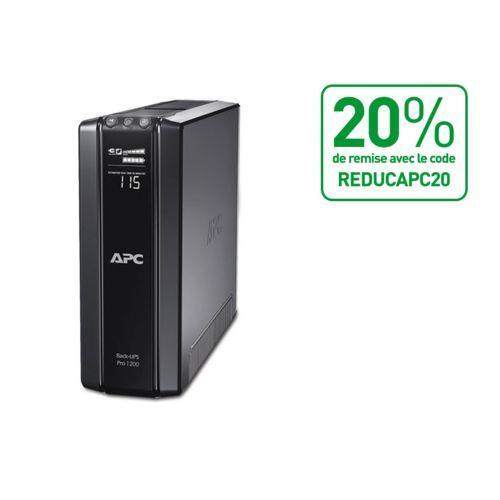 Onduleur APC Back UPS Pro 1500VA 865W 6 Prises FR Line Interactive
