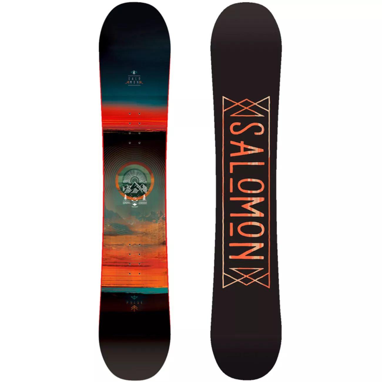 Skis Snowboard SALOMON Board Set Pulse+Pact - Taille 160 et 163 (Via retrait dans une sélection de magasins)