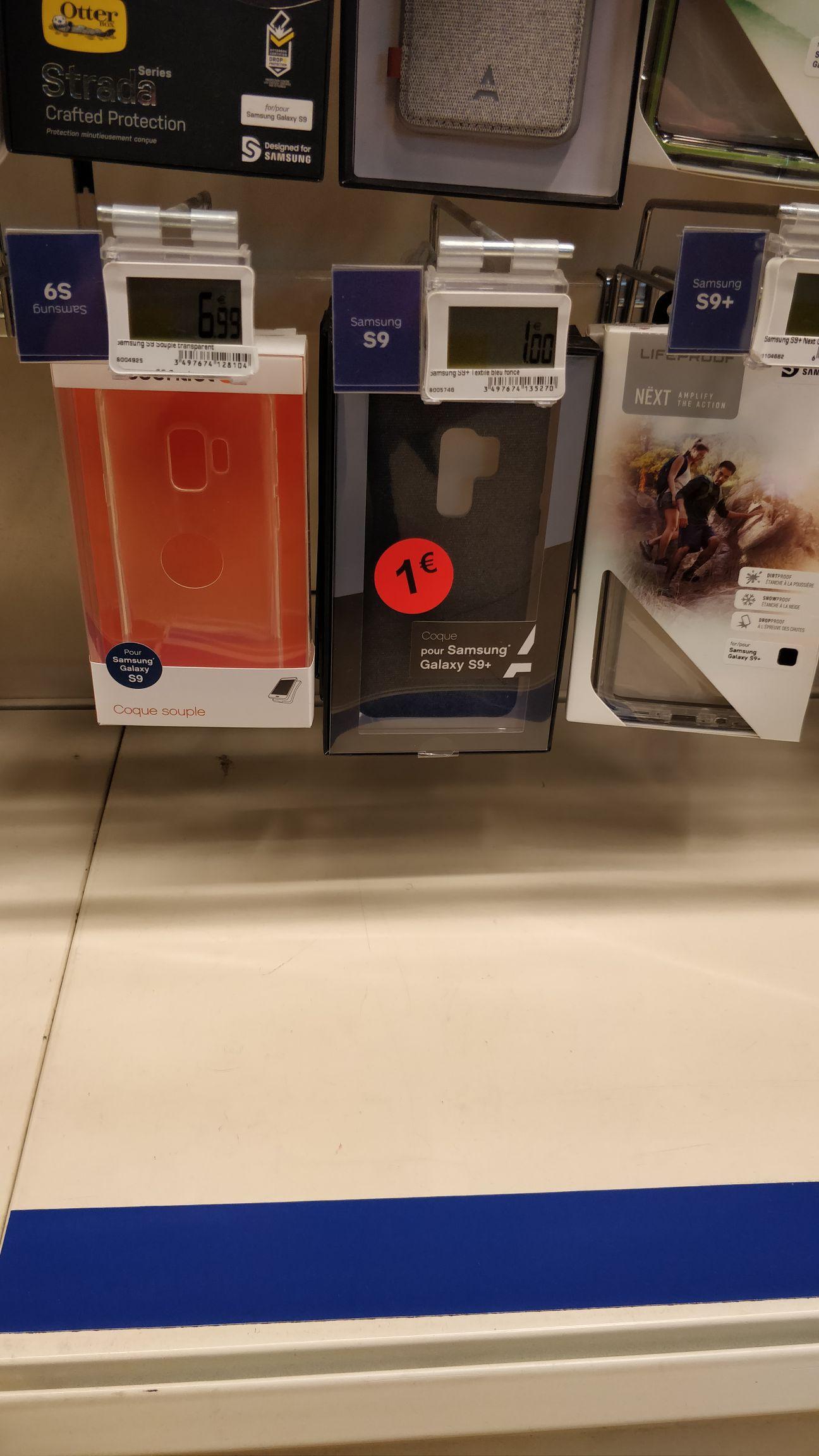 Sélection de coques Essentiel B en promotion - Ex: Coque Essentiel B pour Samsung Galaxy S9 (Dans une sélection de magasins)