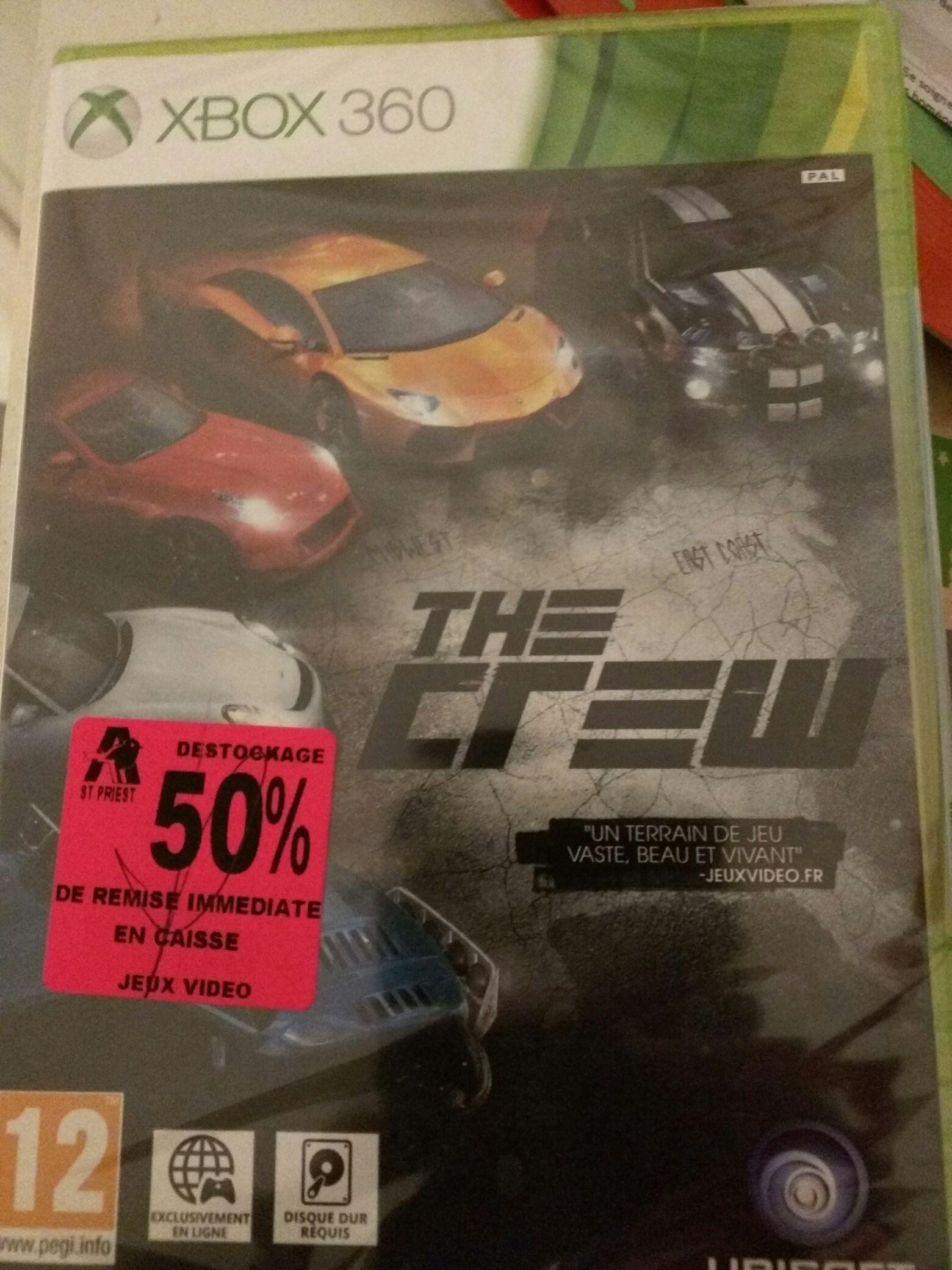 The Crew sur Xbox 360