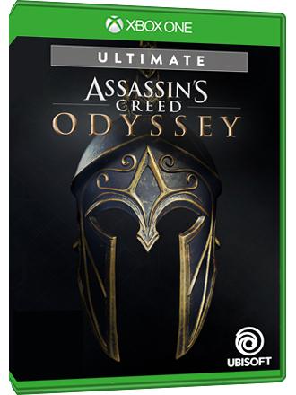 Assassin's Creed Odyssey Ultimate Edition : Jeu + Season pass + Pack Deluxe sur Xbox One (Dématérialisé)