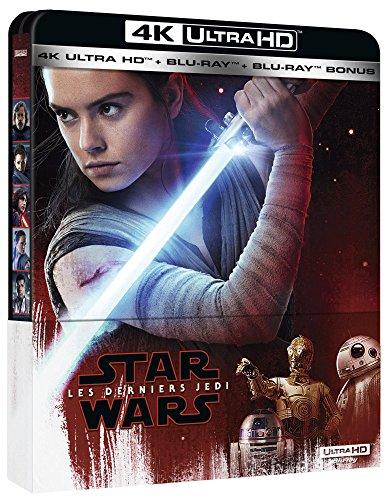 Coffret Blu-Ray 4K Steelbook Star Wars épisode VIII : Les Derniers Jedi