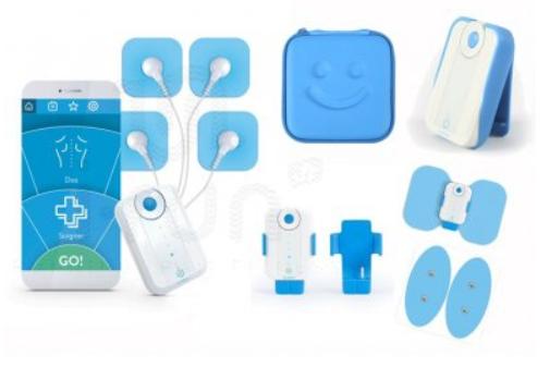 Coffret électro-stimulateur Bluetens Master Pack Bluetens