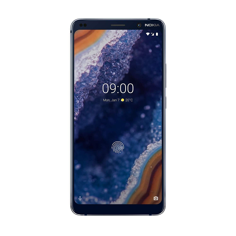 """Smartphone 5.99"""" Nokia 9 PureView - Bleu, 6 Go, 128 Go, Dual SIM"""