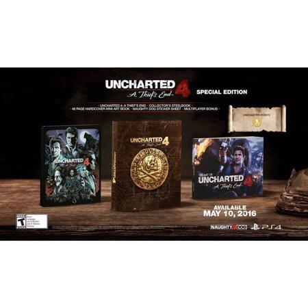 Uncharted 4 A Thief's End Edition Spéciale sur PS4