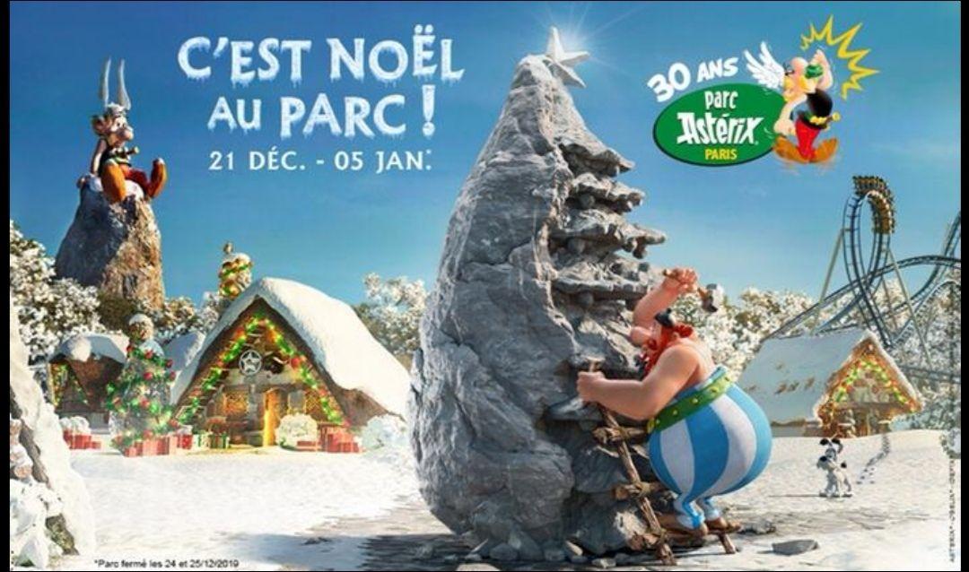 Entrée adulte ou enfant pour le Parc Asterix