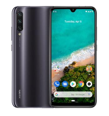 """Smartphone 6.09"""" Xiaomi Mi A3 - 4 Go de RAM, 64 Go"""
