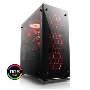 Tour PC Fixe CSL Speed 4908 - i9-9900k, 16 Go RAM, RTX 2070 (8 Go), SSD NVme 500 Go