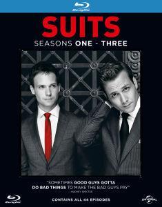 Blu-ray Suits Saisons 1 à 3