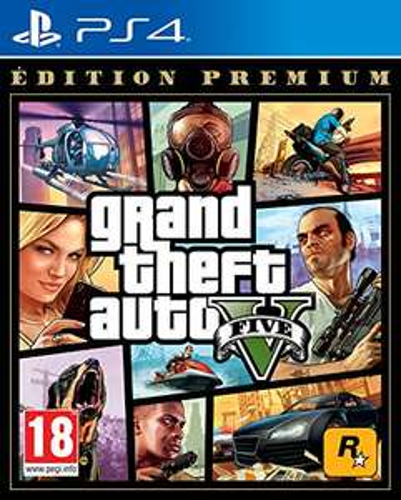 Jeu GTA V Premium Edition sur PS4