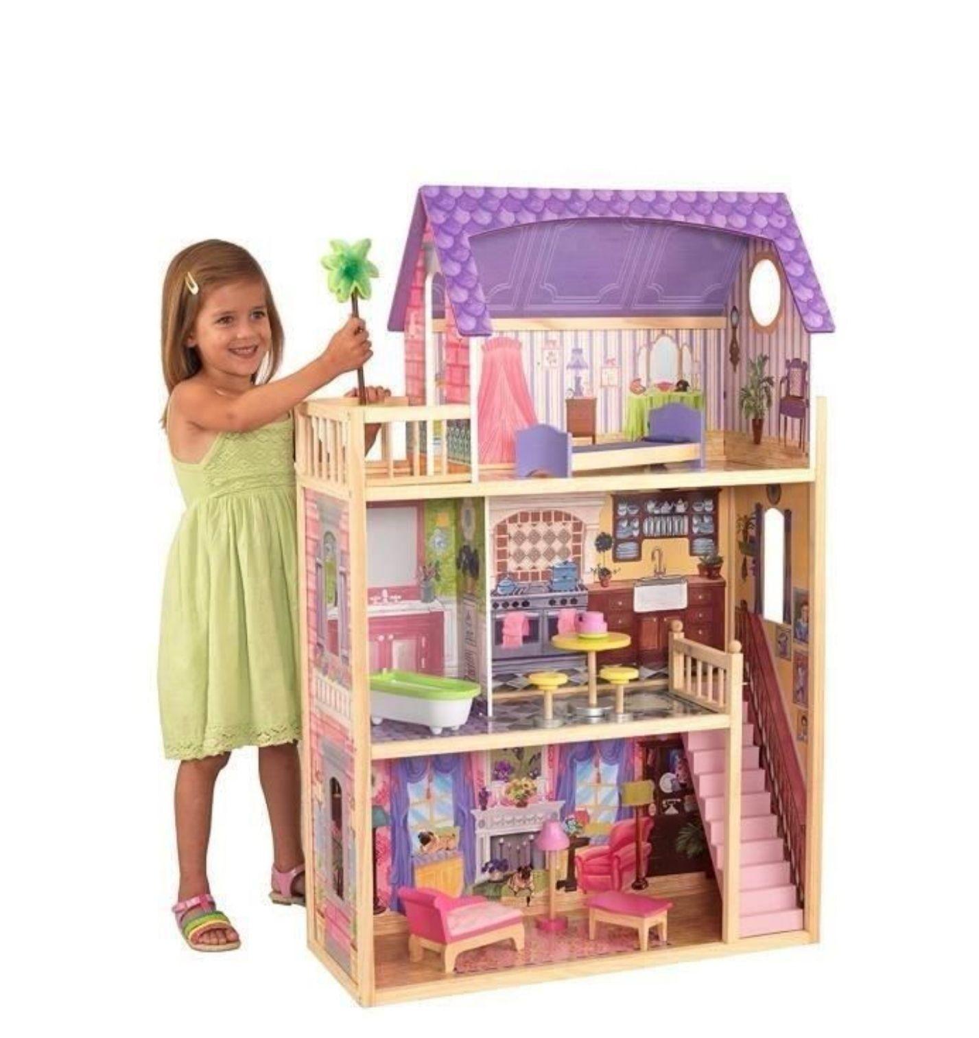 Maison de poupées en bois Kidkraft Kayla