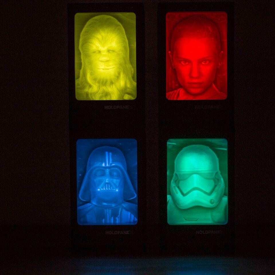 Veilleuse Holopane Rey - Star Wars