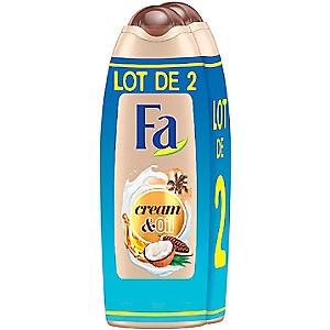 Lot de 2 Gel Douche Fa (Variété au choix) - 2 x 250 ml