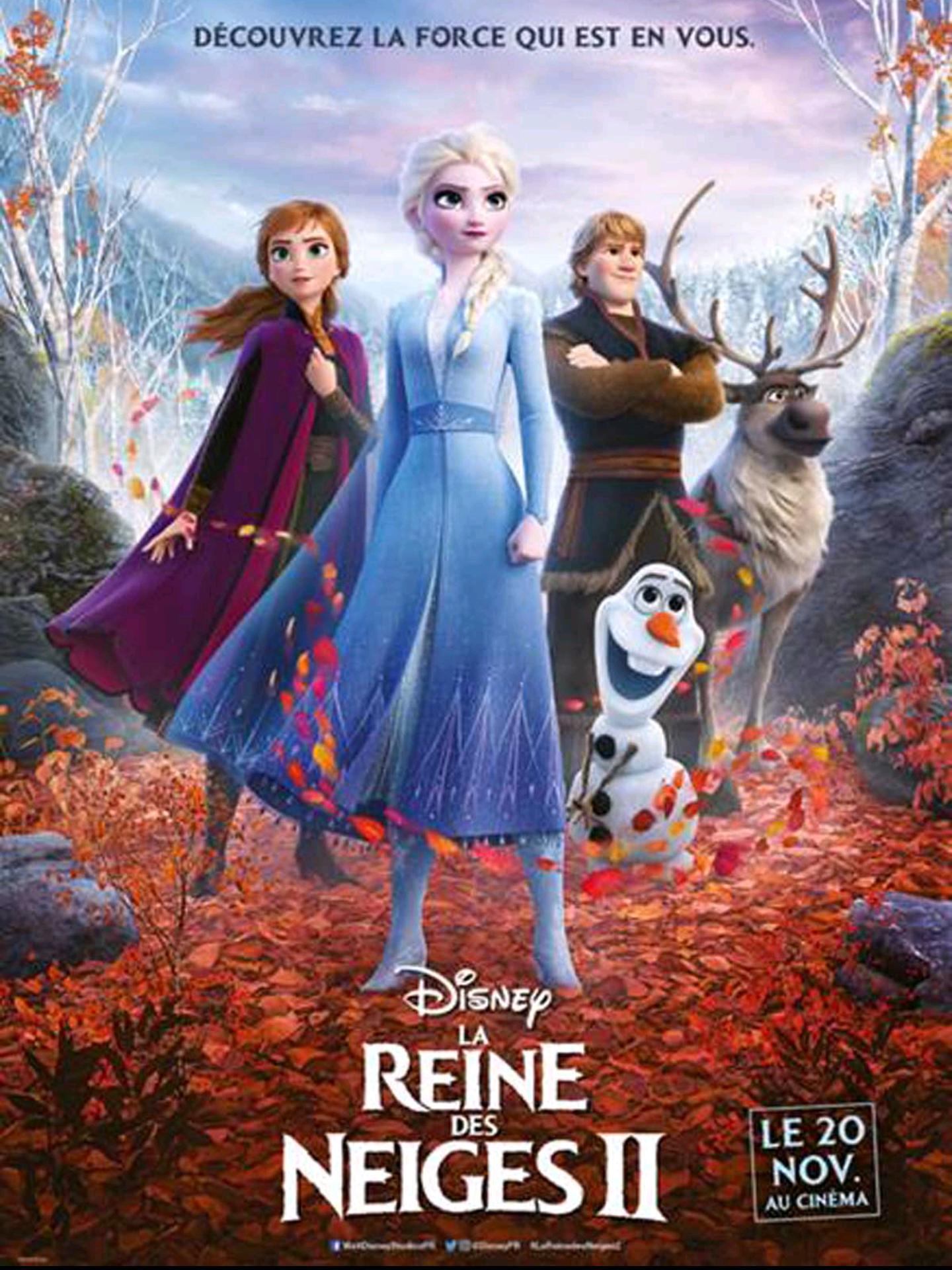 Diffusion gratuite du film d'animation La Reine des Neiges 2 (pour les moins de 12 ans) - Saint-Pourçain-sur-Sioule (03)