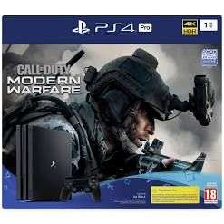 Pack Console Sony PS4 Pro - 1 To + Call of Duty Modern Warfare (Frontaliers Allemagne)
