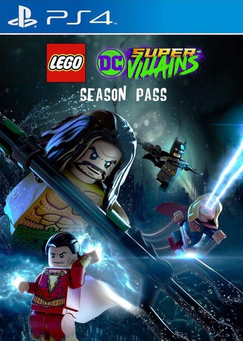 Season Pass DLC pour le jeu Lego DC Super-Vilains sur PS4 (Dématérialisé)