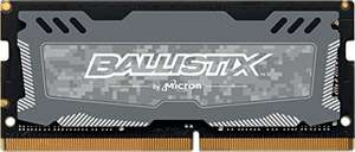 Barrette Mémoire RAM Crucial Ballistix Sport LT BLS16G4S26BFSD - 16Go, DDR4, SODIMM , CL16, 2666 MHz, DDR4