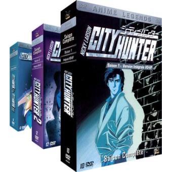 Coffret DVD Intégrale City Hunter - Nicky Larson (version non censuré - vendeur tiers)