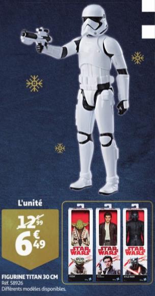 Sélection figurines Star wars - 30cm