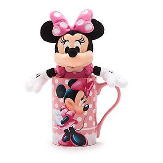 Lot mug et peluche Disney 23cm (Différents modèles) - Ex : Minnie Mouse