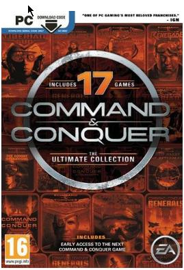 Collection Command & Conquer Ultimate Edition (17 jeux) sur PC - Dématérialisé