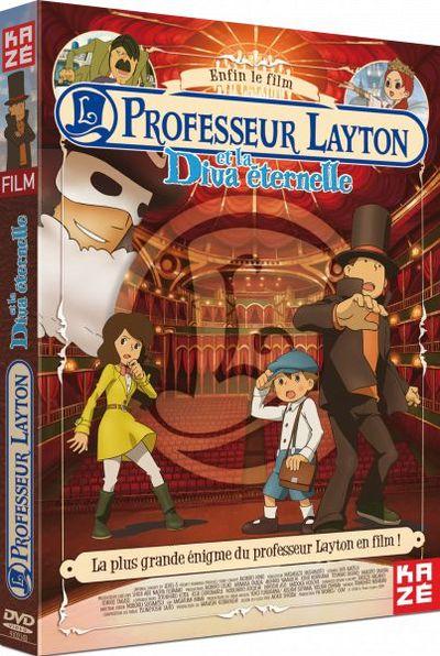 DVD Professeur Layton et la Diva éternelle