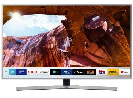 "TV 55"" Samsung UE55RU7475 - 4K UHD, HDR 10+, Dolby Digital+, Smart TV (Via ODR de 100€)"